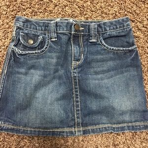 Gap Jean Skirt Sz 14